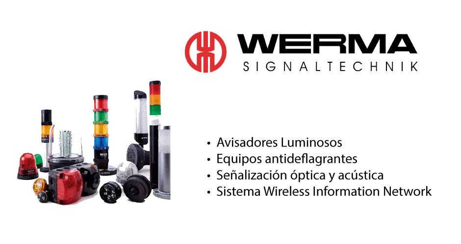 TECNOLOGIA WERMA distribuidor EIMPSA