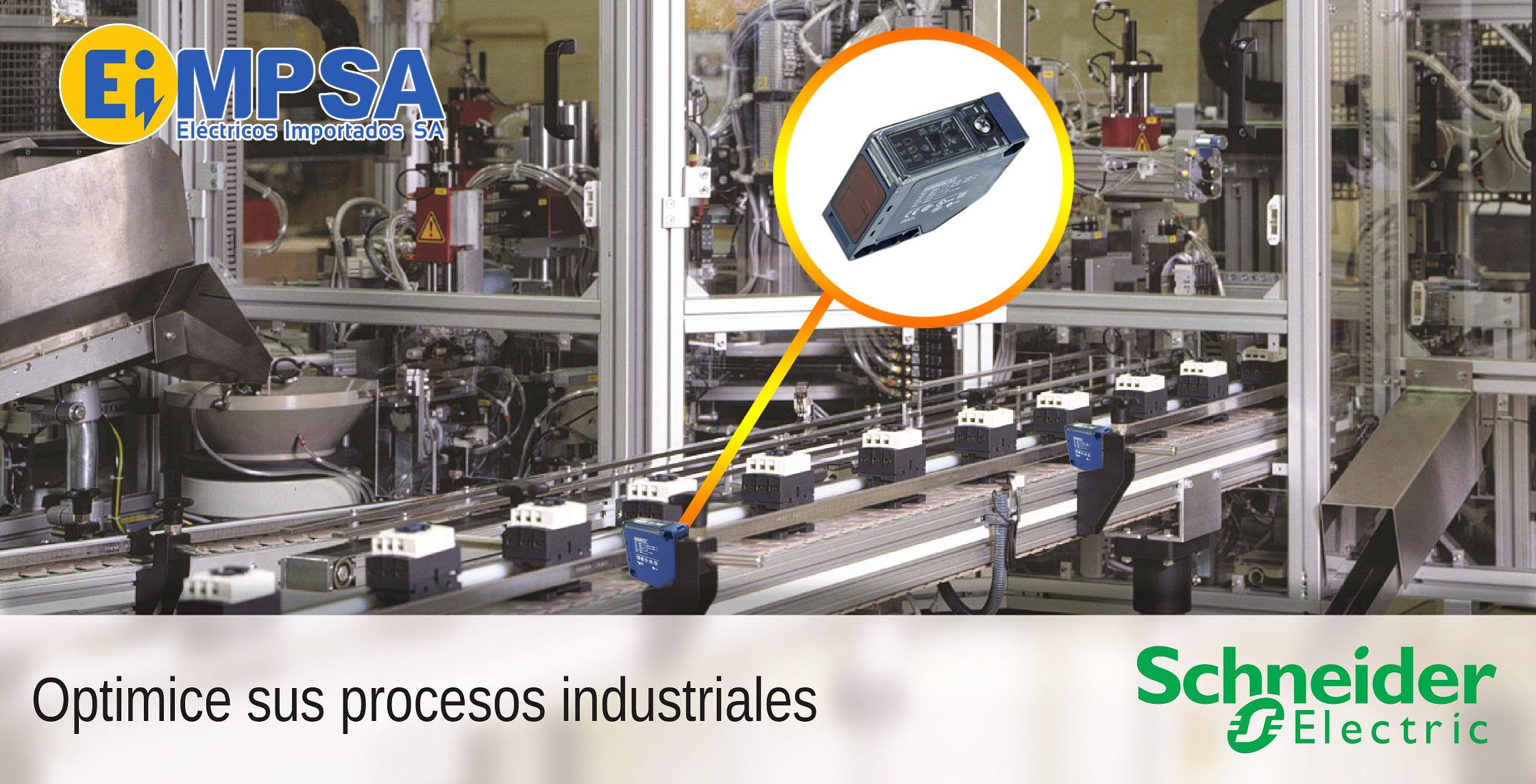 Sensores fotoeléctricos Schneider