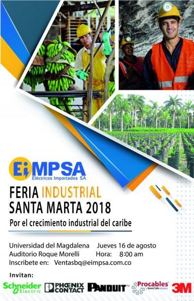 Feria Industrial de Santa Marta EIMPSA