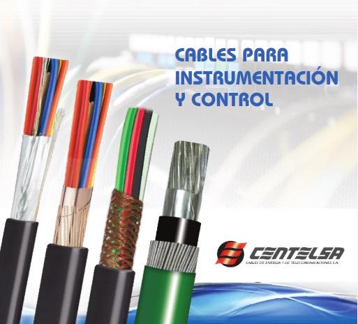 cables para instrumentacion y control centelsa - CABLE INSTRUMENTACION 1X4X18+20AWG CENTELSA
