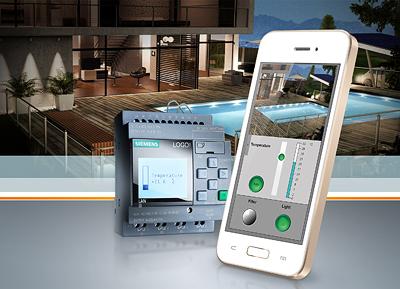 Con ¡LOGO! Web Editor, monitorea tu proceso desde el Smarthphone