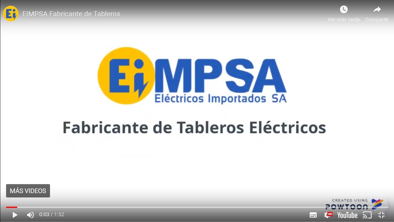 EIMPSA Fabricante de Tableros Eléctricos