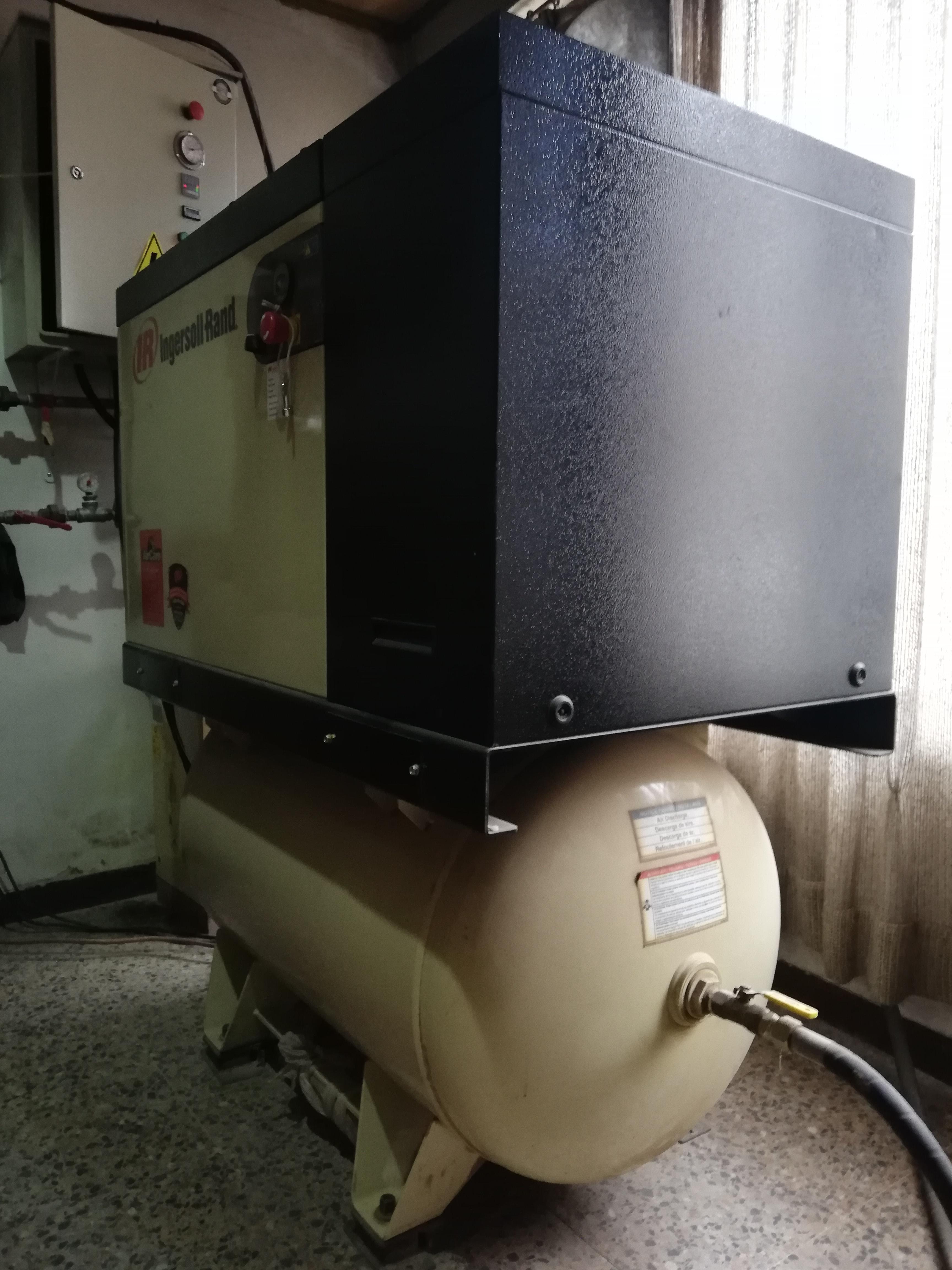 Compresor con g120 siemens EIMPSA