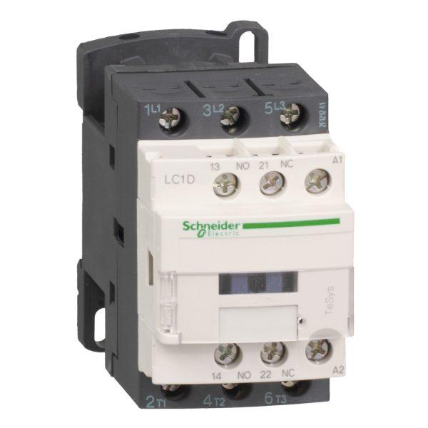 contactor TeSys LC1D - 3 P - AC-3 440 V 18 A - 220 V CA