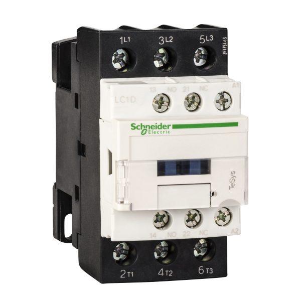 Contactor TeSys LC1D - 3 P - AC-3 440 V 25 A - 220 V CA