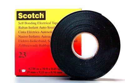 CINTA SCOTCH 23 LE000090056 18mmX9.1m NEGRO 3M