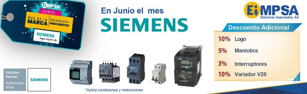 EIMPSA - Siemens descuentos 2020
