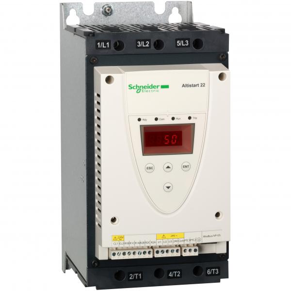 Arrancador Suave Altistart 22 75 A 25HP 220V - 50HP 440V