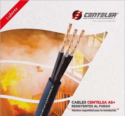 EIMPSA Cables resistentes al fuego CENTELSA