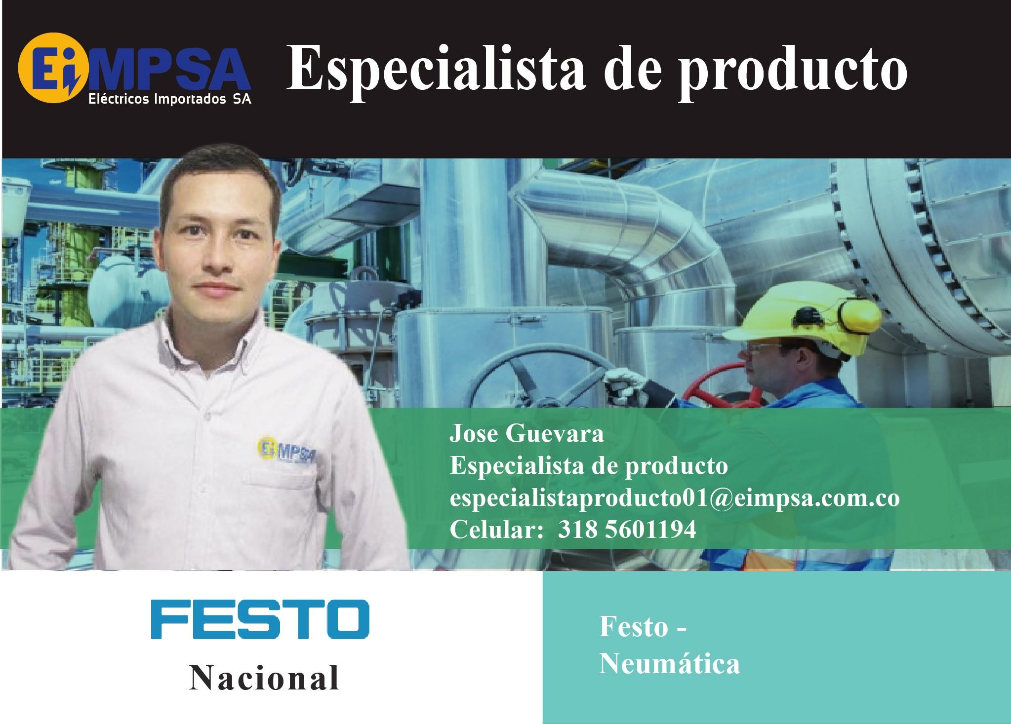 Fichas presentación especialista-FESTO Jose Guevara