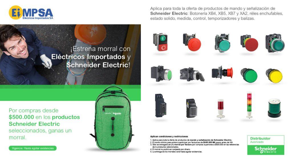 Mando y Señalización 1 promo maletas Schneider