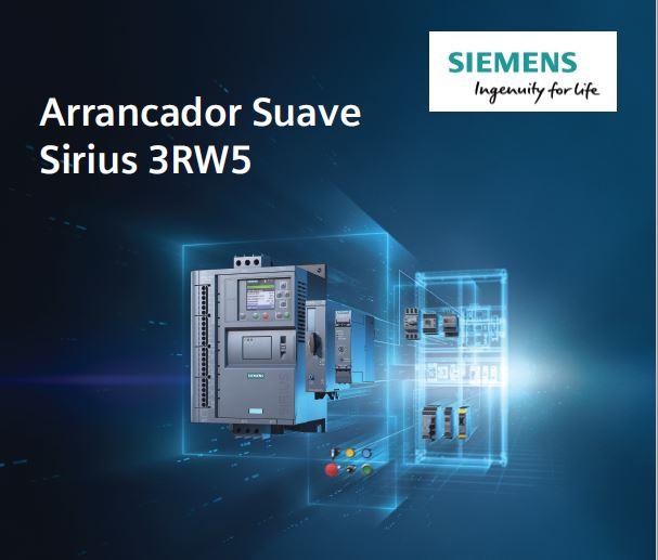 Arrancador Suave SIRIUS 3WR5 de Siemens
