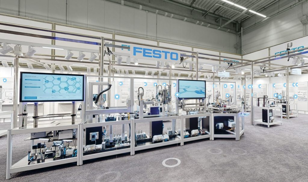 Stand FESTO Hannover