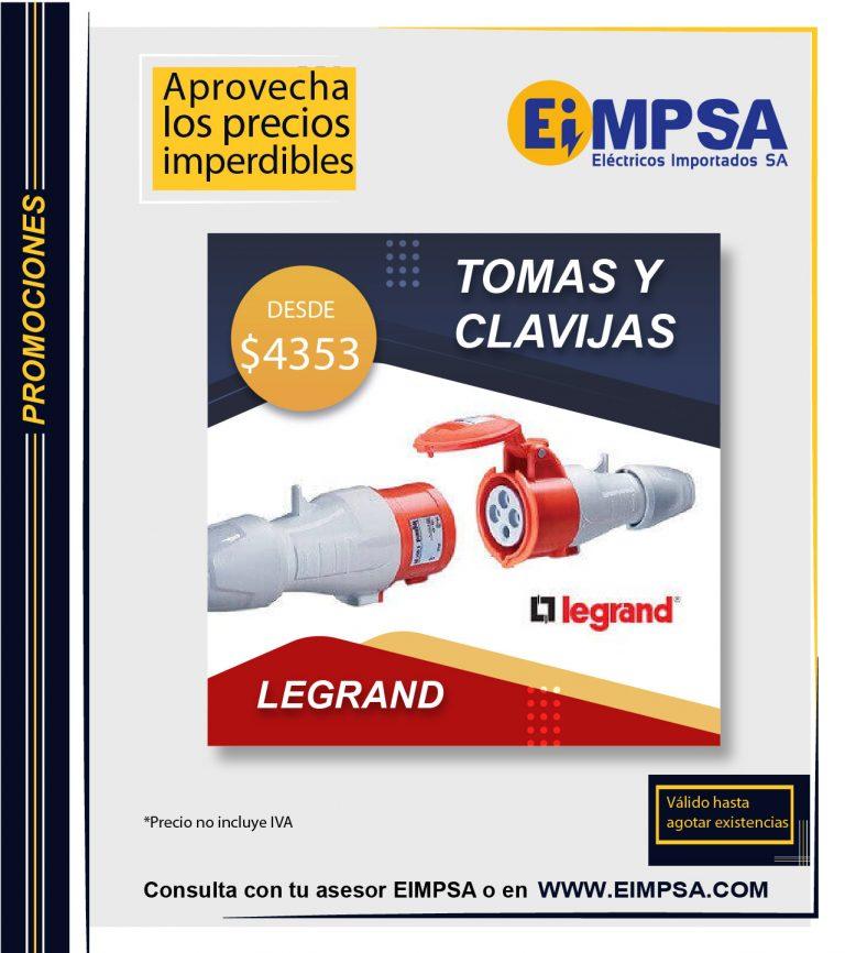 Legrand Promocion EIMPSA Agosto-04