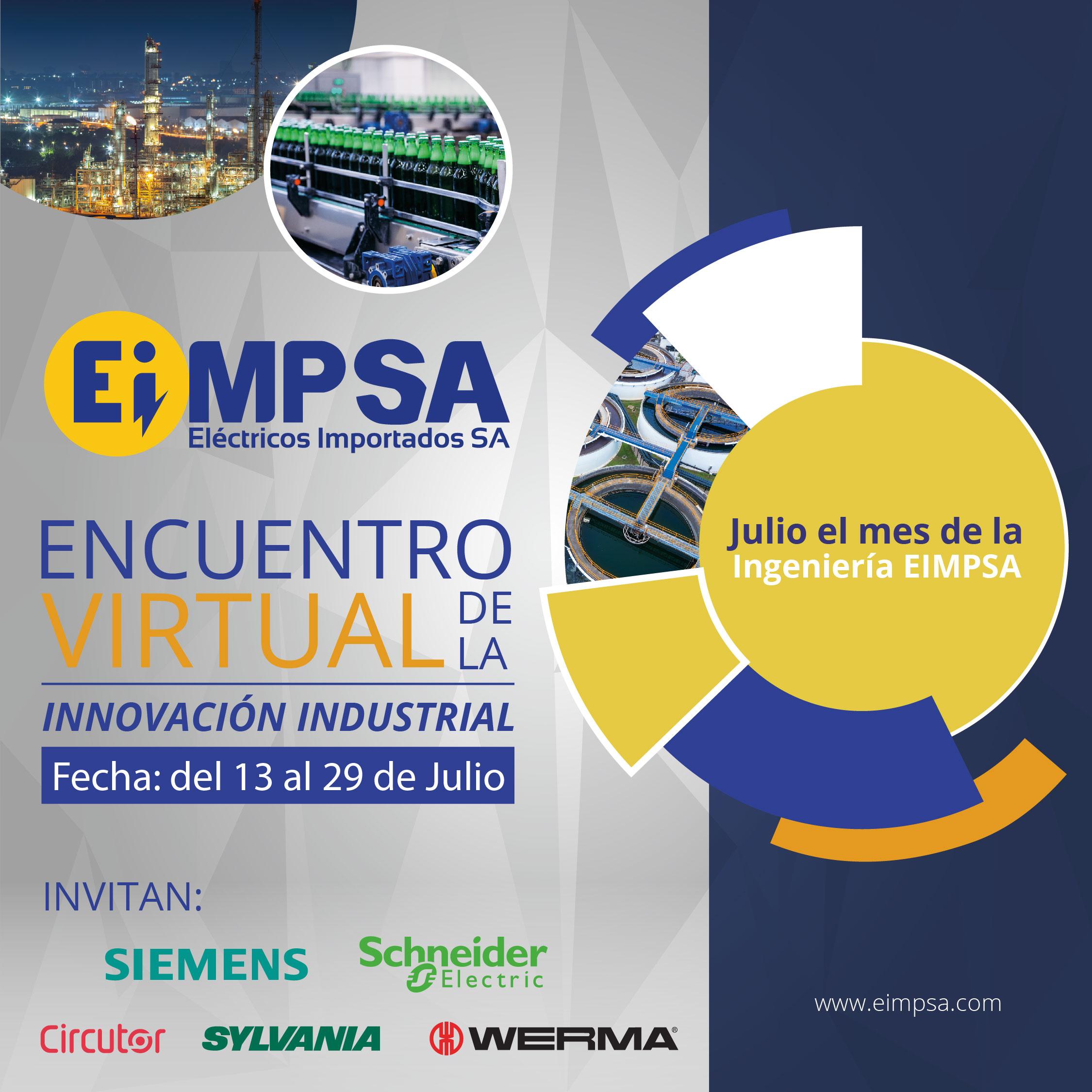 Encuentro Virtual de la Innovación Industrial EIMPSA 2021