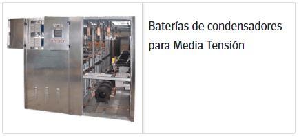 Circutor baterias para condensadores media tension