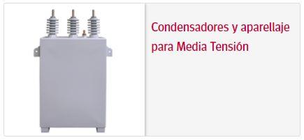 Circutor condensadores y aperellaje media tension