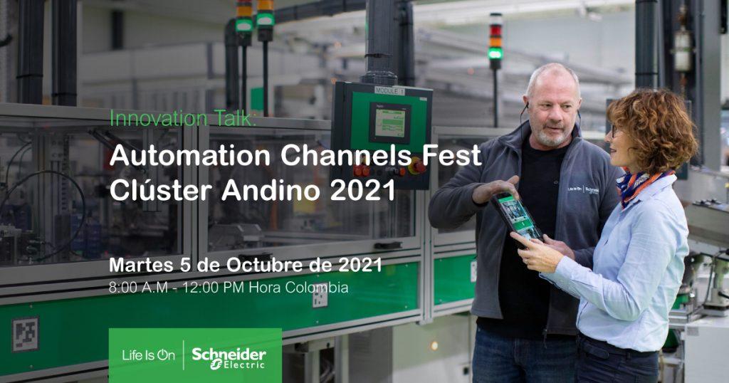 Schneider Automation Channels Imagen Publicitaria 1