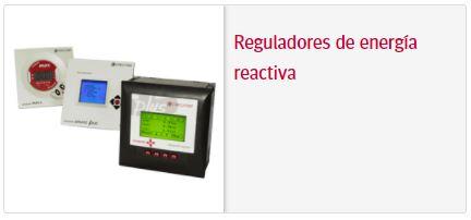 Circutor Reguladores de energia reactiva