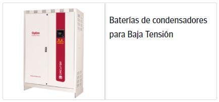 Circutor baterias de condensadores baja tensión