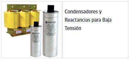 Circutor condensadores y reactancias