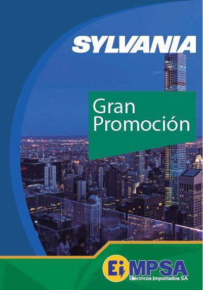 Listado promocional Sylvania EIMPSA