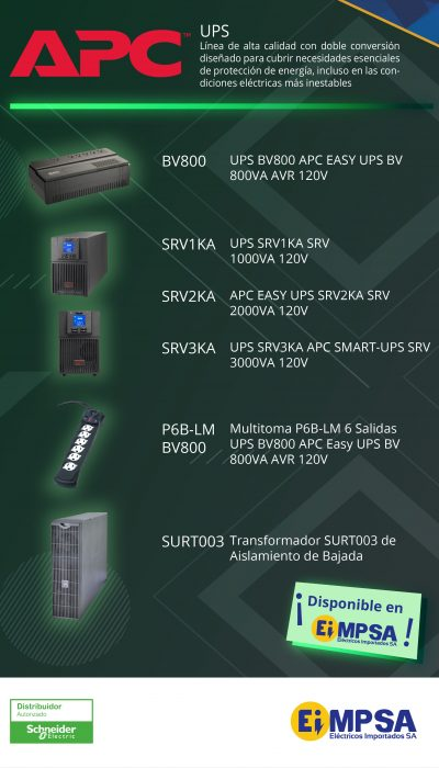 EIMPSA UPS APC